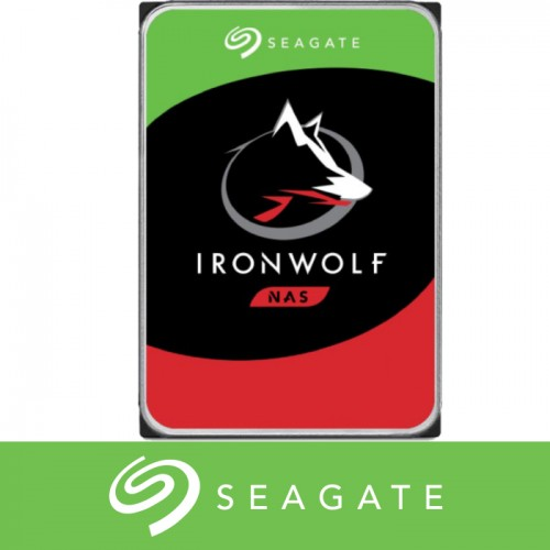 SEAGATE IronWolf 3.5 HDD 16TB / 14TB / 12TB / 10TB / 8TB / 6TB / 4TB / 3TB / 2TB / 1TB. The Power of Agility for Home, SOHO, and SMB NAS Enclosures