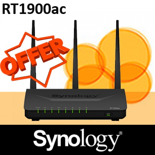 Synology Router RT1900ac High-speed Wireless Router