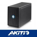 Akitio NT2 U31C 2Bay External storage Enclosure USB3.1