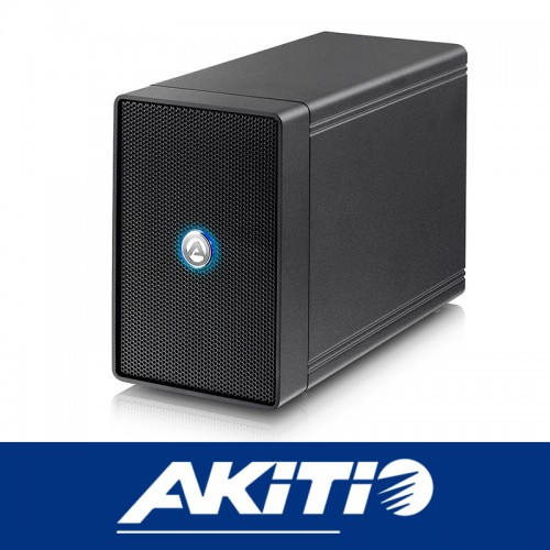 Akitio NT2 U31C 2Bay External storage Enclosure USB3.1