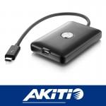 Akitio T3T Thunderbolt3 to Thunderbolt and Thunderbolt2 adapter