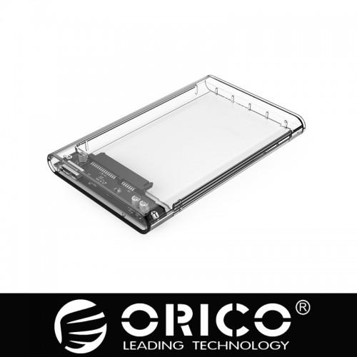 "ORICO 2.5"" Transparent USB3.0 Hard Drive Enclosure (2139U3)"