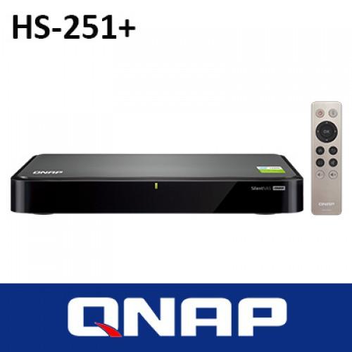 QNAP HS-251+ FANLESS 2BAY NAS 2GB RAM