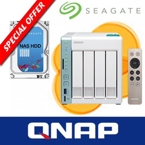 QNAP TS-451A with 1 x Seagate NAS HDD