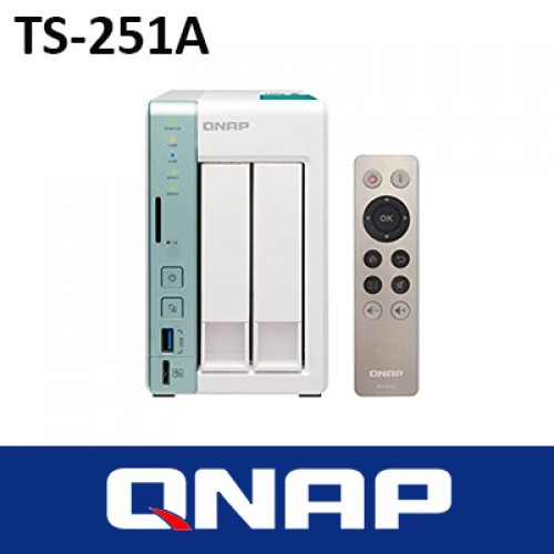 QNAP TS-251A 2BAY TOWER NAS