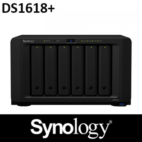 Synology DS1618+ 6Bay NAS