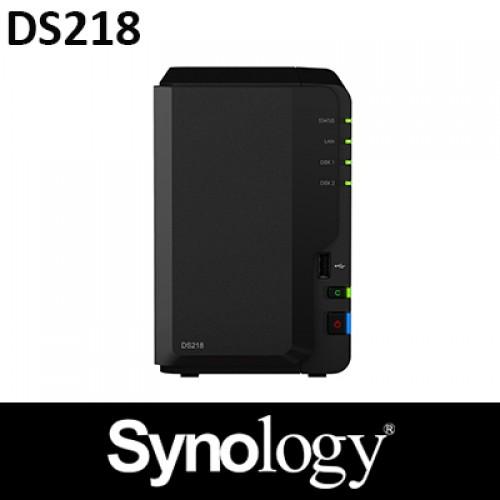 DS218 (2 x 4TB HDD Bundle)