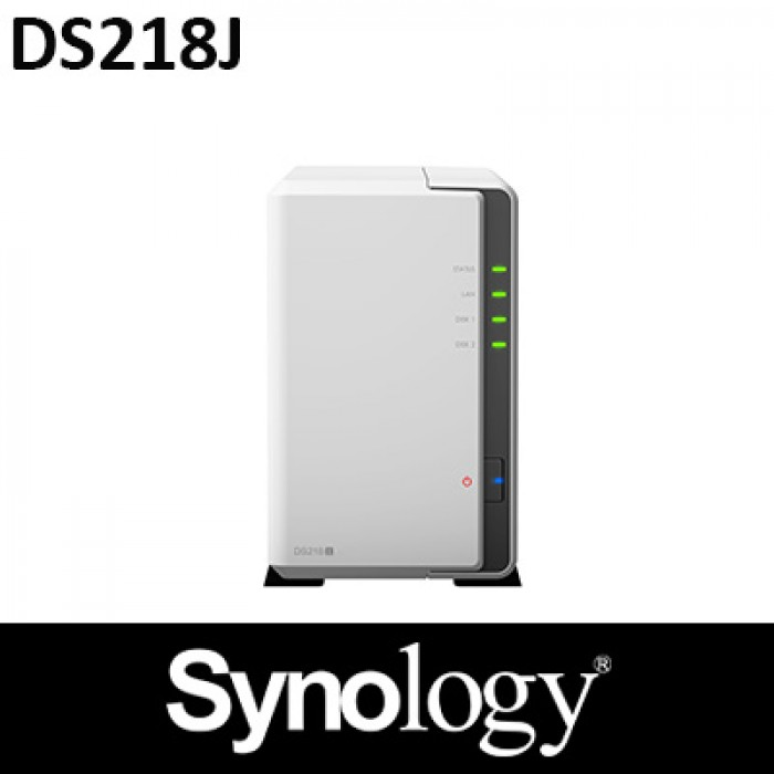 Synology DS218J 2 Bay NAS