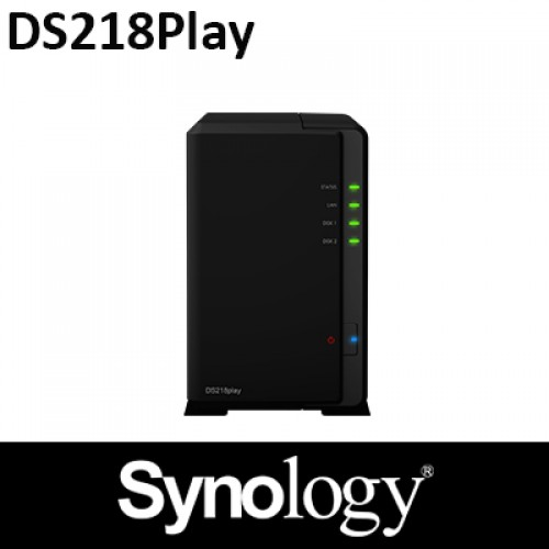 Synology DS218Play 2Bay NAS