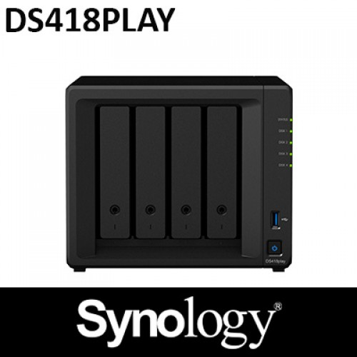 Synology DS418PLAY 4BAY NAS