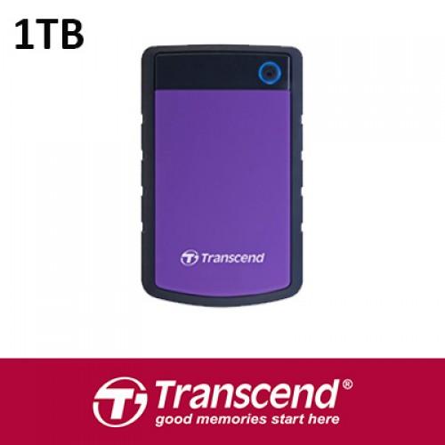 Transcend 1TB USB3.0 Portable Hard Disk TS1TSJ25H3P