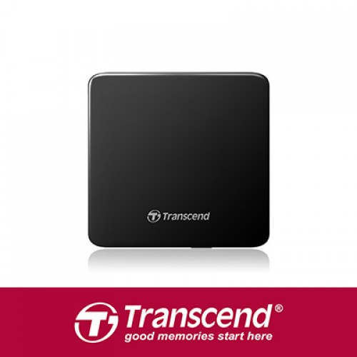 Transcend DVD TS8XDVDS-W Extra Slim Portable DVD Writer (White)