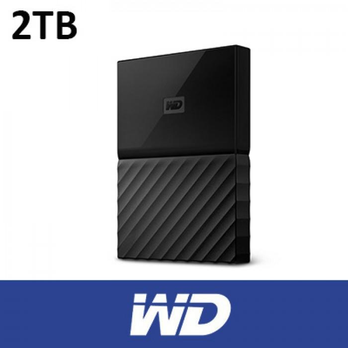 WD 2TB My Passport USB3 0 Portable Hard Disk BLACK
