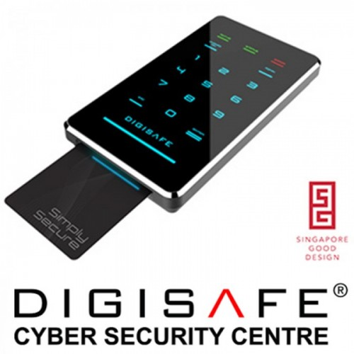 DIGISAFE DiskCrypt M100-256E Onyx USB 3.0 HDD